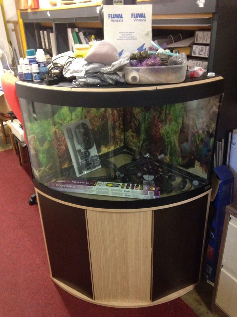 fluval venezia 190 aquarium stand with extras in corby northamptonshire gumtree. Black Bedroom Furniture Sets. Home Design Ideas
