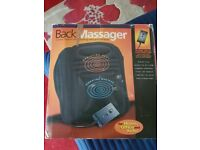 Back massager in box