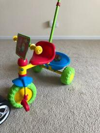 Baby's tricycle