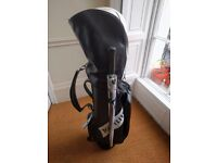Hippo SC2 Oversize golf iron set, plus bag & woods