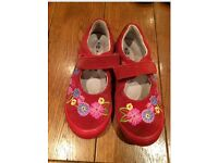 Girls kids shoes, size 9
