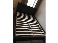 Faulse leather Double bed for sale