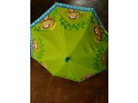 Children's jungle animal monkey umbrella. RRP around £7