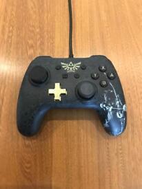 Nintendo switch legend of Zelda pro controller