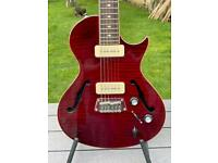 Epiphone Blueshawk 2x P90 coil tapped with Varitone Semi Solid electric Guitar