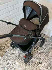 Silver Cross Pioneer Pram, Pushchair and Carseat