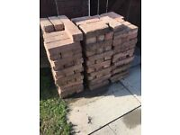 250 red bricks