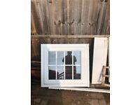 Reduced Georgian window