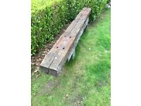 Reclaimed Railway Sleeper