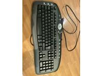 eMachines KB-0108 Black PS2 Wired Multimedia Keyboard - Tested Working