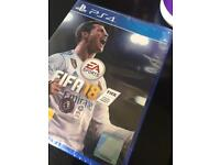 PS4 fifa18 game