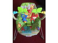 Fisher price baby bouncer in excellent condition