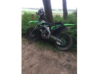 Kxf250 2009 road registered