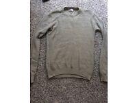 PIER ONE new beige mens knitted jumper size Medium ! Bargain !