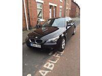 BMW 520d 5 series black car for sale