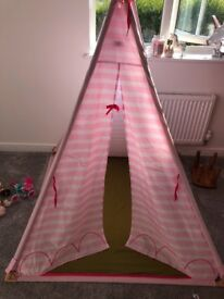 Our generation collection, stable,horse,kitchen,bed,full size teepee,4 dolls and clothes!!