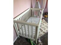 3 in 1 Mamas and Papas cot bed/toddler bed