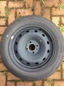 Car Tyre Continental Premium Unused Balanced 185 60 R15