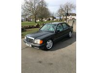 1992 Mercedes 190E 2.0 Auto, Low Mileage, Custom Exhaust