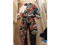 Motocross/Moto-X Oneal Pants + Jersey! (Mayhem Crank -Black)