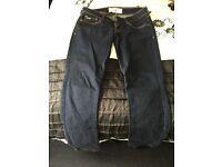 Hollister crop jeans size 3