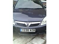 Vauxhall vectra for sale 9month mot minor damage on left back arch