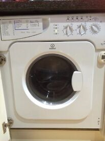 Washing Machines Built in INDESIT IWDE126 6kg - for spare parts or repair