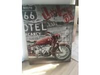 Route 66 Canvas - collection only