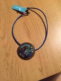 Blue necklace *new*