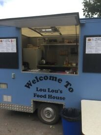 Burger/hot food trailer