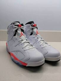 Nike Air Jordan VI white/infrared - 2014 Reissue (Deadstock)