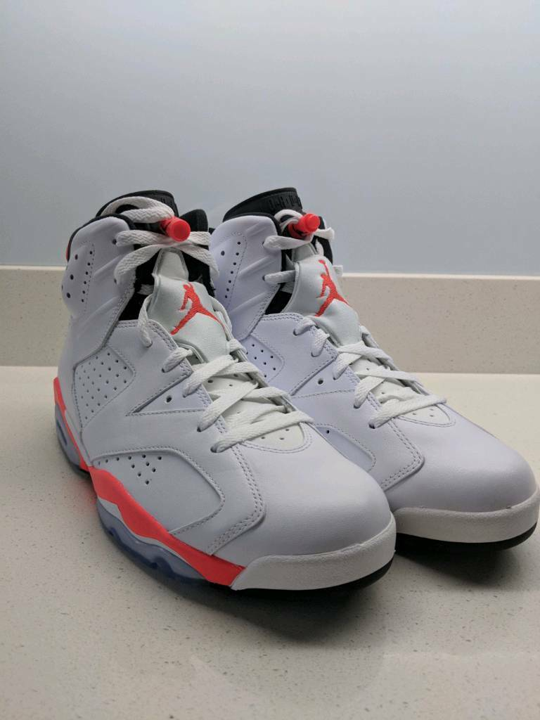the best attitude 4320b 1551f Nike Air Jordan VI white/infrared - 2014 Reissue (Deadstock) | in  Maidenhead, Berkshire | Gumtree