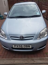 Toyota Corolla 2.0D, MOT March 2018, Parrot handsfree Installed