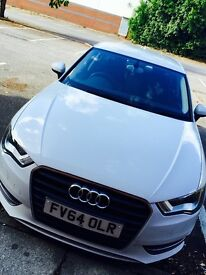 ** 64 REG AUDI A3 ** MANUAL PETROL ** GREAT CONDITION ** LOW MILEAGE
