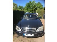 Mercedes S320 Auto LWB (limo) fully loaded