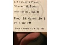 Steve Wilson concert ticket