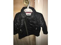 Girls next leather jacket