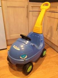 Children's Ride In/Parent Push Car **excellent Condition only £5!**