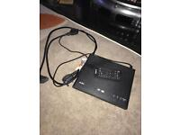 DVD player with remote and scart lead