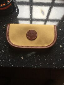 HARDY fly wallet, leather bound (reduced)