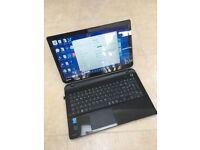 Toshiba L50Core i7-5500U 8GB ram, 1TB hdd, Windows 8 + charger.