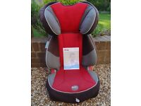 Britax child junior car seat, forward-facing Stage 2/3, 15-36kg