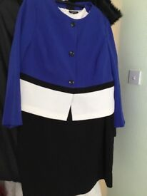 Ladies dress and jacket size 22