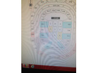 2 X BRITNEY SPEARS TICKETS MANCHESTER SATURDAY 18TH AUGUST - GREAT SEATS - PAYPAL - TICKETS IN HAND