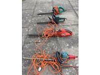 4 x Black & Decker Electric Hedge Trimmers - BARGAIN!
