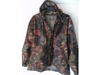Jack Pike Junior Camo Jacket & Trousers. Size Junior X Large = Age 10-12 ish.