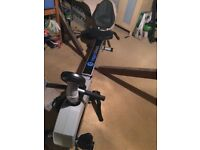 Roger Black Recumbent Exercise Bike & Rowing Machine