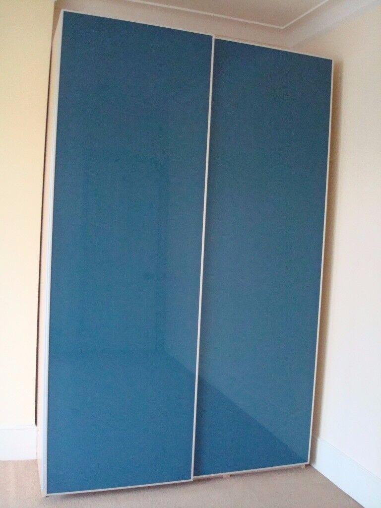 *** As New Blue Wardrobe – 2 Sliding doors***