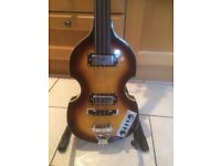 New Vintage HB Fret less Beat Bass. Right Handed.