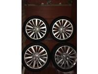 "Audi genuine 18"" alloy wheels"